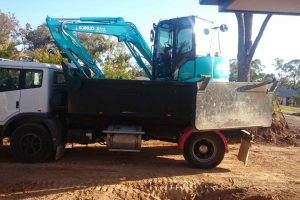 Bobcat and Mini track Loader hire Brisbane